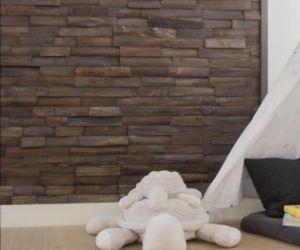 Lesena stenska obloga BOURBON